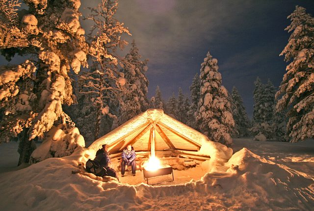 Laponie, Finlande, Rovaniemi, Europe, hiver, cercle artique, Lapland, Finland, winter, artic circle